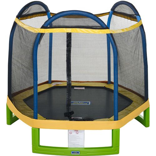 Jump Zone™ 7' Round Trampoline with Enclosure