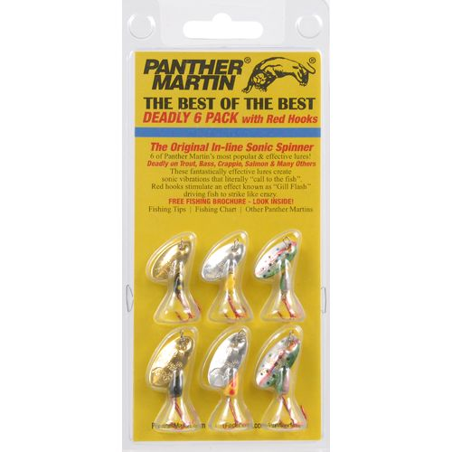 Panther Martin Best of the Best Lures 6-Pack