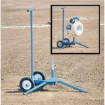 JUGS 1-Wheel Series Super Softball Pitching Machine with Cart