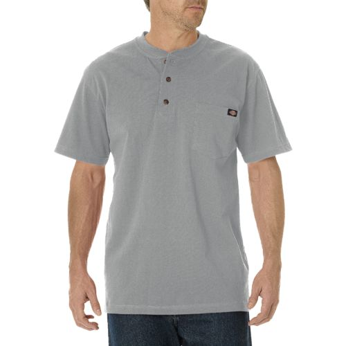 Display product reviews for Dickies Men's Short Sleeve Heavyweight Henley