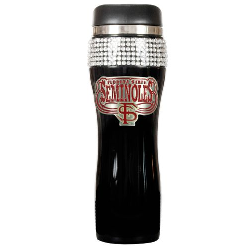 Great American Products Florida State University 14 oz. Stainless-Steel Bling Tumbler