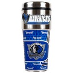 Great American Products Dallas Mavericks 16 oz. Travel Tumbler with Metallic Wrap