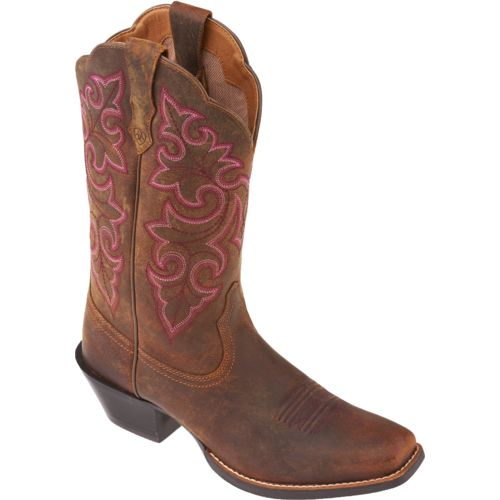Ariat Women's Round Up Square-Toe Cowboy Boots - view number 2