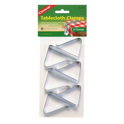 Coghlan's Tablecloth Clamps 6-Pack - view number 1