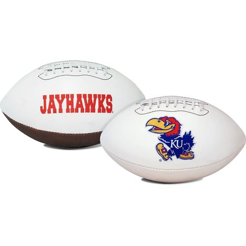 Jarden Sports Licensing University of Kansas Signature Series Full Size Football with Autograph Pen - view number 1