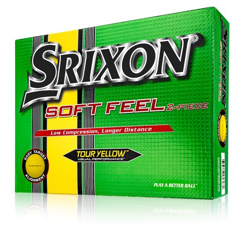SRIXON® Soft Feel Tour Yellow Golf Balls 12-Pack