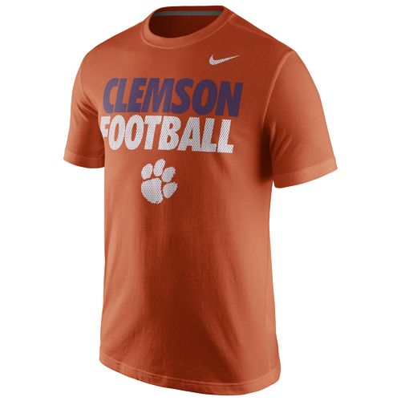 Orange Clemson Tigers Shirt Academy