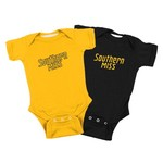 Atlanta Hosiery Company Toddlers' University of Southern Mississippi Lap Shoulder Creepers 2-Pac