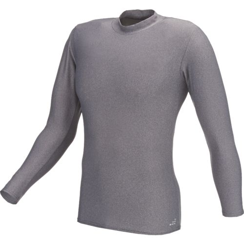 BCG Men's Cold Weather Long Sleeve Mock Neck Baselayer Shirt