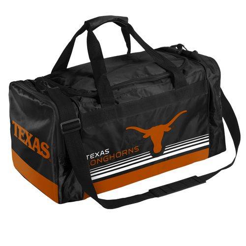 Forever Collectibles™ University of Texas Medium Striped Core Duffel Bag