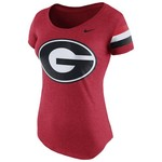 Nike Women's University of Georgia Scoop Team DNA T-shirt