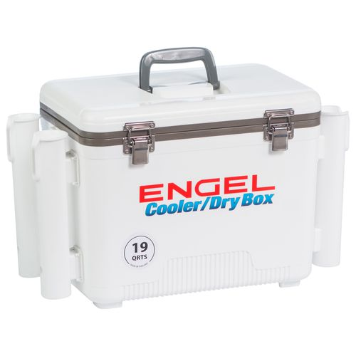 Engel 19 qt. Cooler/Dry Box with Rod Holders - view number 5