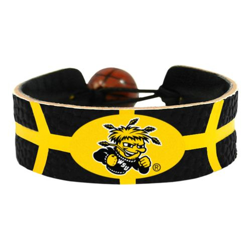 GameWear Wichita State University Team Color Basketball Bracelet