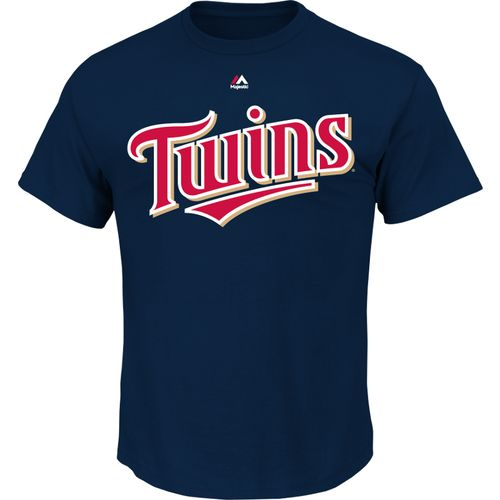 Majestic Men's Minnesota Twins Official Wordmark T-shirt