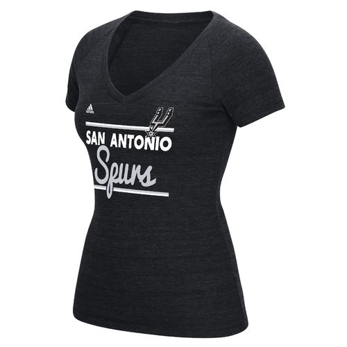 adidas™ Women's San Antonio Spurs Tip-Off Double Bar T-shirt
