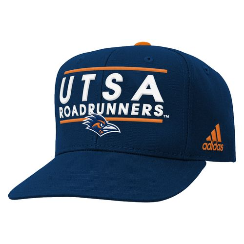 adidas™ Boys' University of Texas at San Antonio Flat Brim Snapback Cap