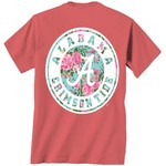 New World Graphics Women's University of Alabama Floral T-shirt