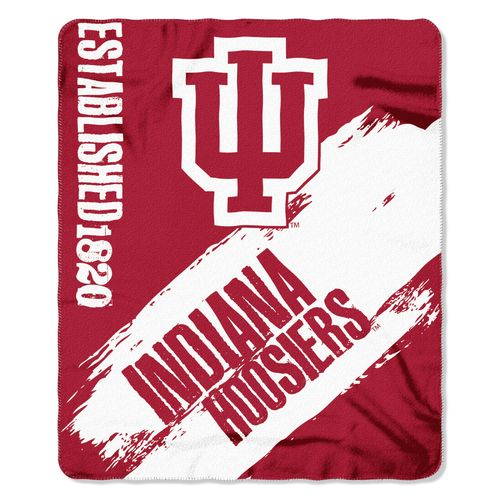 The Northwest Company Indiana University Painted Fleece Throw