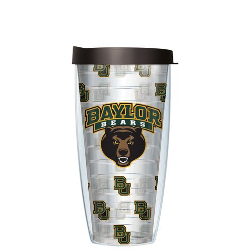 Signature Tumblers Baylor University 22 oz. Repeated Pattern Traveler Insulated Tumbler