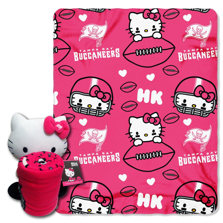 The Northwest Company Tampa Bay Buccaneers Hello Kitty