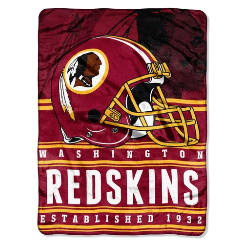 The Northwest Company Washington Redskins Stacked Silk Touch Throw