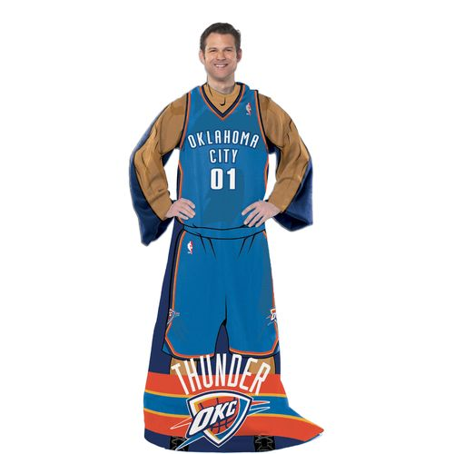 The Northwest Company Oklahoma City Thunder Uniform Comfy Throw