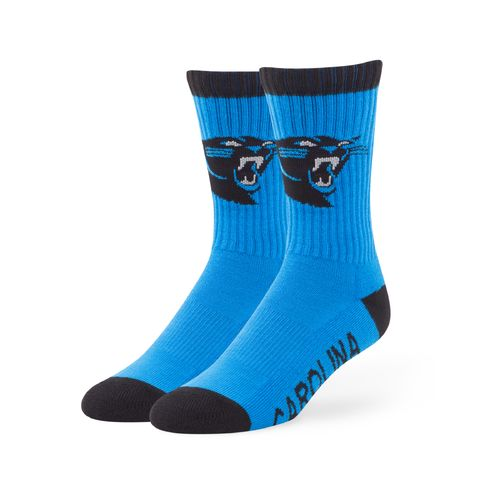 '47 Men's Carolina Panthers Bolt Sport Socks