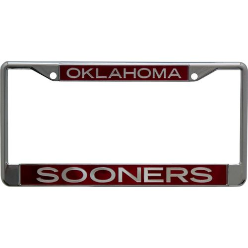 Stockdale University of Oklahoma Mirror License Plate Frame