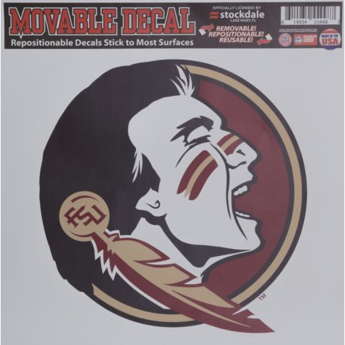 Stockdale Florida State University Single Logo Decal