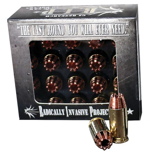 G2 Research Radically Invasive Projectile .40 S&W 115-Grain Centerfire Handgun Ammunition