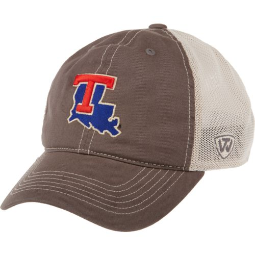 Top of the World Adults' Louisiana Tech University Putty Cap - view number 1