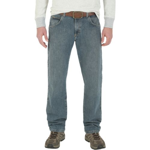 Wrangler Rugged Wear Men's Regular Straight Fit Jean