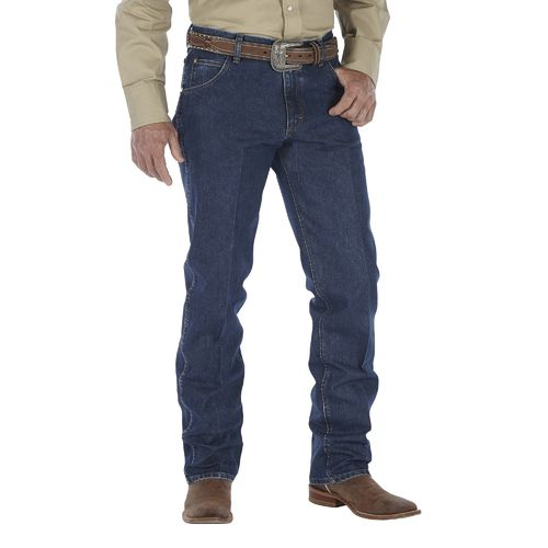 Wrangler Men's Premium Performance Cool Vantage Cowboy Cut Regular Fit Jean