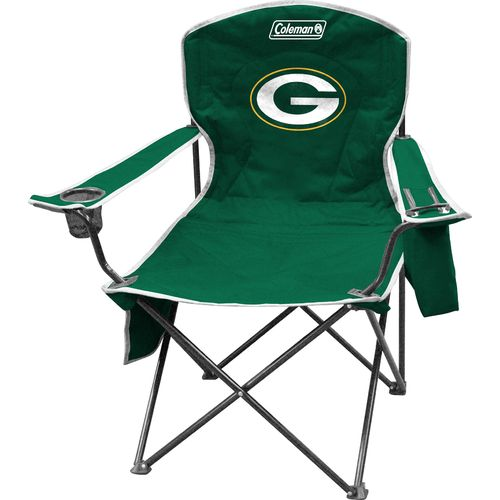 Coleman® Green Bay Packers Cooler Quad Chair