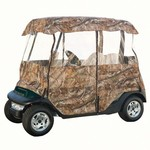 Classic Accessories Deluxe Realtree Camo Golf Cart Enclosure