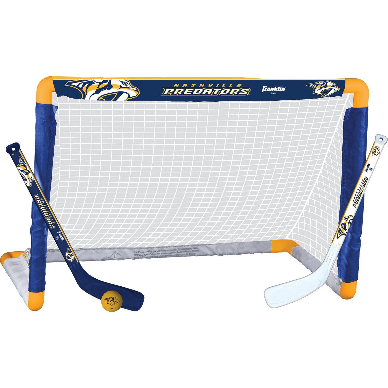 Franklin Nashville Predators Mini Hockey Goal Set