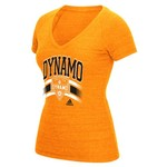 adidas™ Women's Houston Dynamo Short Sleeve V-neck T-shirt