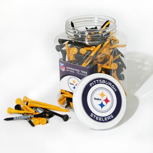 Team Golf Pittsburgh Steelers Tees 175-Pack