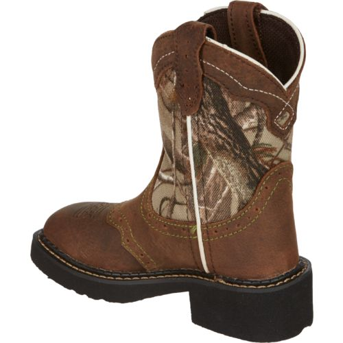 Justin Girls' Aged Bark Gypsy Western Boots - view number 3