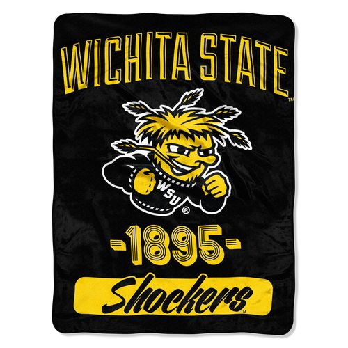 The Northwest Company Wichita State University Varsity Micro Raschel Throw
