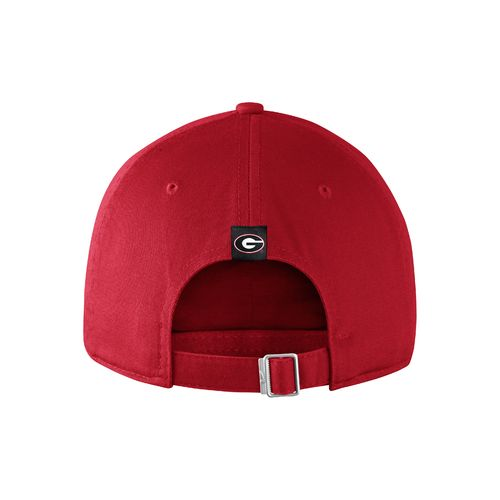 Nike™ Men's University of Georgia Heritage86 Wordmark Swoosh Flex Cap - view number 2
