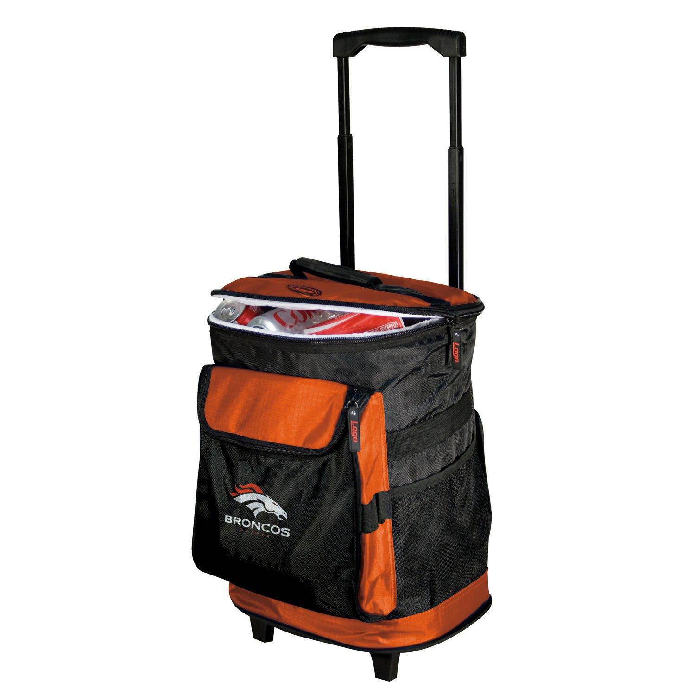 Logo Denver Broncos Rolling Cooler