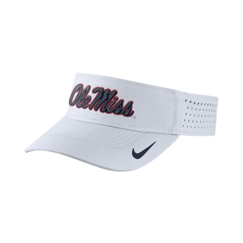 Nike™ Men's University of Mississippi Vapor Adjustable Visor