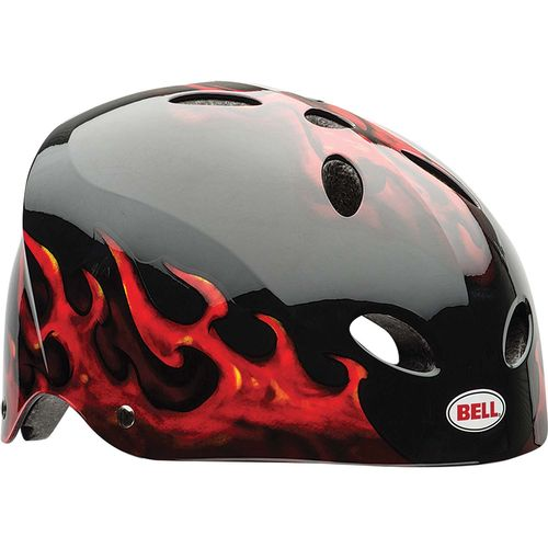 Bell Youth Wicked Flames Multisport Helmet