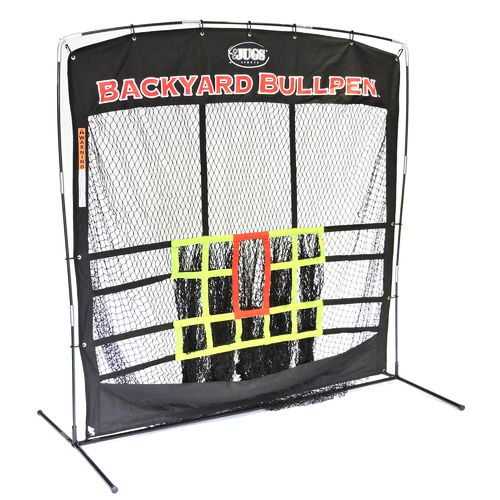JUGS Backyard Bullpen 84' x 84' x 48' Baseball Set