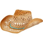 O'Rageous® Women's Cowboy Hat with Beaded Trim