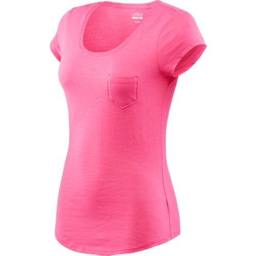 BCG™ Juniors' Basic Short Sleeve Solid Scoop Neck T-shirt