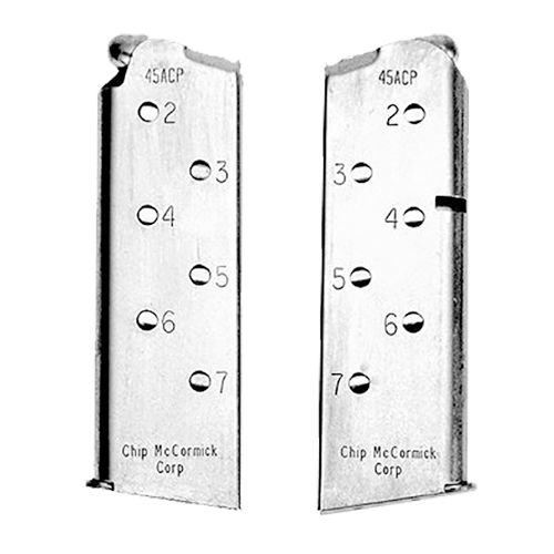 Chip McCormick Custom Mags 1911 Officer .45 ACP 7-Round Replacement Magazine
