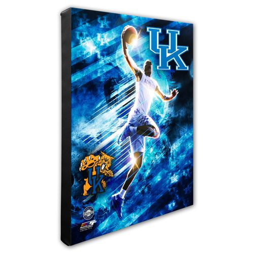 Photo File University of Kentucky Player Stretch Canvas Photo