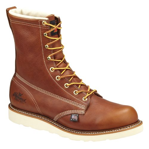 "Thorogood Shoes Men's American Heritage 8"" Wedge Work Boots"